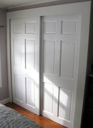 Sliding Closet Door Panels Sliding Closet Doors Raised Panel Sliding Doors Design