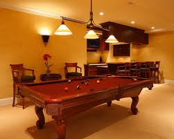 Great Light Over Pool Table