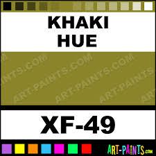 khaki color acrylic paints xf 49 khaki paint khaki color