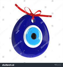 turkish amulet evil eye 3d render stock illustration 413972536