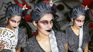 evil queen halloween evil queen of cards makeup tutorial halloween makeup meenu