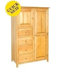 Wooden Armoire Wardrobe Solid Wood Armoire Wardrobe U2013 Blackcrow Us