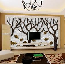 3d room wallpaper custom mural non woven wall sticker tree trunk