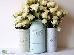 Mason Jar Vases Wedding 224 Best Mason Jar Wedding Images On Pinterest Painted Mason