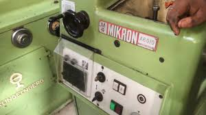 automatic hob sharpener mikron a60 0 youtube