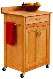 catskill craftsmen deluxe butcher block cart with flat panel doors deluxe butcher block cart with flat panel doors and backsplash 61533