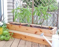 deck privacy trellis with planter box garden box trellis ideas