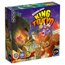amazon com king of tokyo board game first edition toys u0026 games