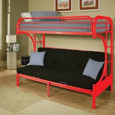 ACME Furniture Eclipse Futon Bunk Bed  Reviews Wayfair - Futon couch bunk bed