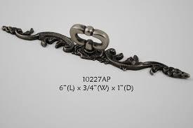 antique pewter cabinet hardware hardware cabinet dresser drawer pull knob mock key w backplate