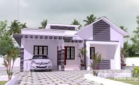 1119 sq ft modern single floor home u2013 kerala home design