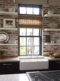 Best  Faux Brick Backsplash Ideas On Pinterest White Brick - Brick backsplash tile