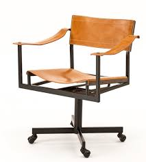 midcentury desk chair atelier viollet breathes new life into a mid century office chair