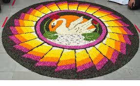 rangoli decoration why do indians make rangolis discovering india net