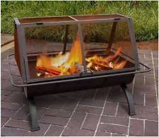 Fire Pit Rotisserie by 31 In Charcoal Wood Burning Bbq Grill Outdoor Cooking Grate
