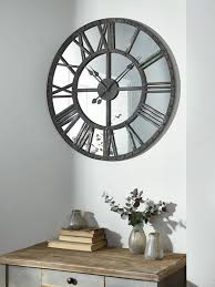 oversized clocks large wall clock with giant industrial wall clock with decorative