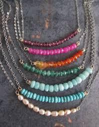 Jewelry Making Design Ideas Best 25 Gemstone Necklace Ideas On Pinterest Etsy Jewelry Diy