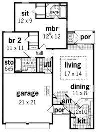 home plans homepw76422 2 454 square feet 4 bedroom 3 floor plan under 500 sq ft standard floor plan one bedroom