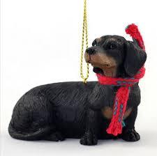 black dog christmas ornament home decorating interior design