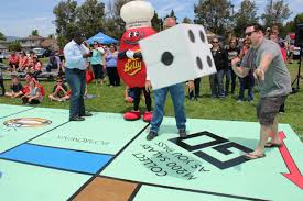 Monopoly Map Salvation Army May Have Built Largest Monopoly Board In The World