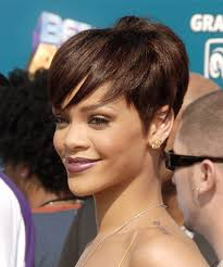 short brunette hairstyles front and back rihanna hairstyles in 2018