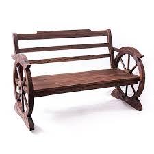 panchina in legno da esterno panchina da esterno in legno di abete grezzo cm 117x63x74h collyshop
