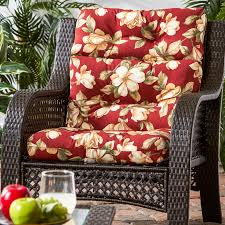 Cargo Furniture Cushion Covers Greendale Home Fashions Outdoor High Back Chair Cushion Only