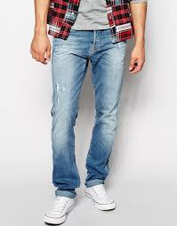 light blue true religion jeans lyst true religion jeans rocco slim fit light indigo distressed in