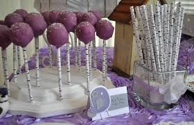 lavender baby shower decorations lavender baby bird shower baby shower party ideas photo 2 of 14
