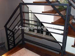 Wrought Iron Railings Interior Stairs Interior U0026 Indoor Stair Iron Railings Handrails Designs