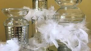 Diy Table Decorations Dollar Tree Diy Candle Holder Designs Feather Boa Table