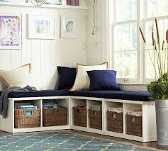 build your own ryland modular banquette pottery barn