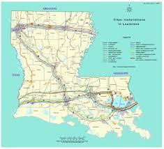 map louisiana highways interstates rural interstate corridor communications study report to states