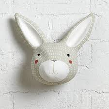 paper mache easter bunny paper mache rabbit in wall decor reviews crate and