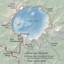 alerts conditions crater lake national park u s national