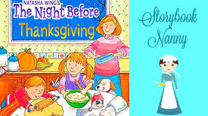 the before thanksgiving books read aloud
