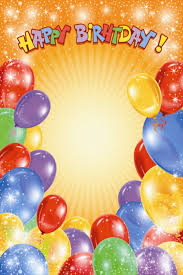 colorful birthday cards with balloons u2022 elsoar