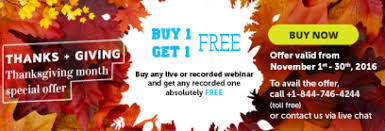 compliance global announces buy one get one free on all webinars