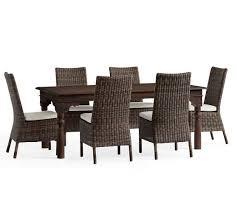 Dining Table Set Espresso Sayulita Dining Table U0026 Torrey Side Chair Dining Set Espresso