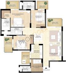 House Floor Plans 2000 Square Feet by Home Design 2000 Square Feet In India Ideasidea