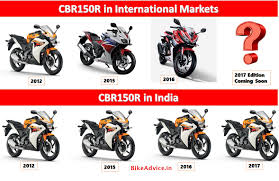 cbr new model r15 vs cbr150r sales comparison reasons u0026 more details