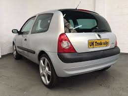 renault clio 2002 modified 2002 renault clio 1 2 authentique 3dr long mot in