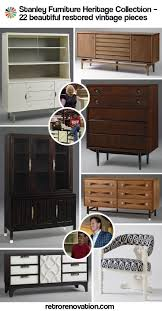 Stanley Furniture Bedroom Set by Restored Vintage Stanley Furniture Heritage Collection An