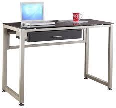 Glass And Chrome Desk Metal Computer Desk U2013 Interior Design