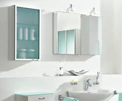 bathroom ideas half mirrored modern bathroom wall cabinet above