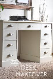 contact paper desk makeover white desk restyle timeless creations llc