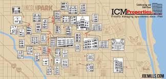 Lincoln Park Chicago Map by Icm Properties Map U2013 Joe Mills