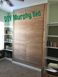 Make Your Own Cheap Platform Bed by Junk In Their Trunk Diy Murphy Bed Wall Bed
