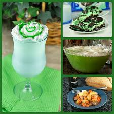 green st patrick u0027s day recipes wishes and dishes