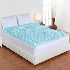 authentic comfort 2 inch orthopedic 5 zone foam mattress topper